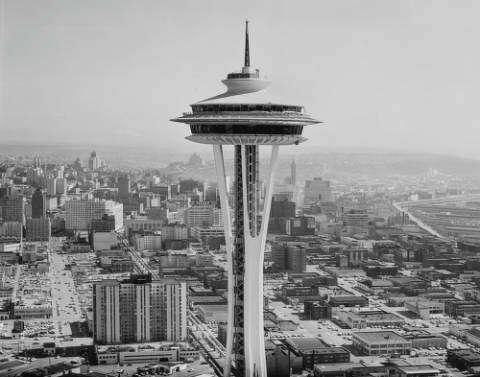 Space Needle,Seattle,1962 World/'s Fair,World/'s,Fair,Landmark