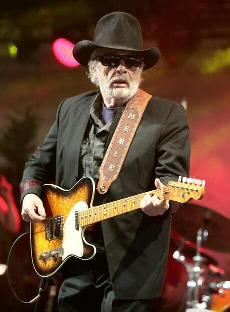 Merle Haggard, who died Wednesday, had 71 Billboard top-10 country hits. Photo: Owen Sweeney, Owen Sweeney/Invision/AP