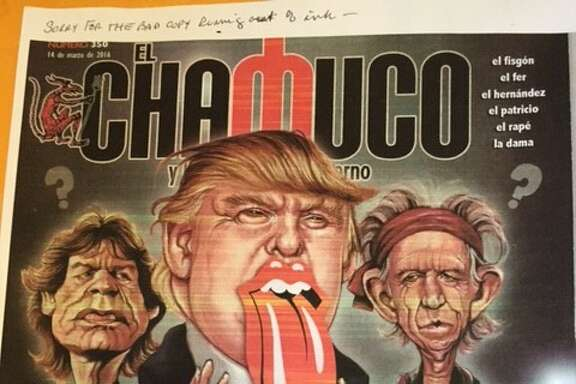 """Cover of El Chamuco magazine, """"Antipathy to the Devil."""""""