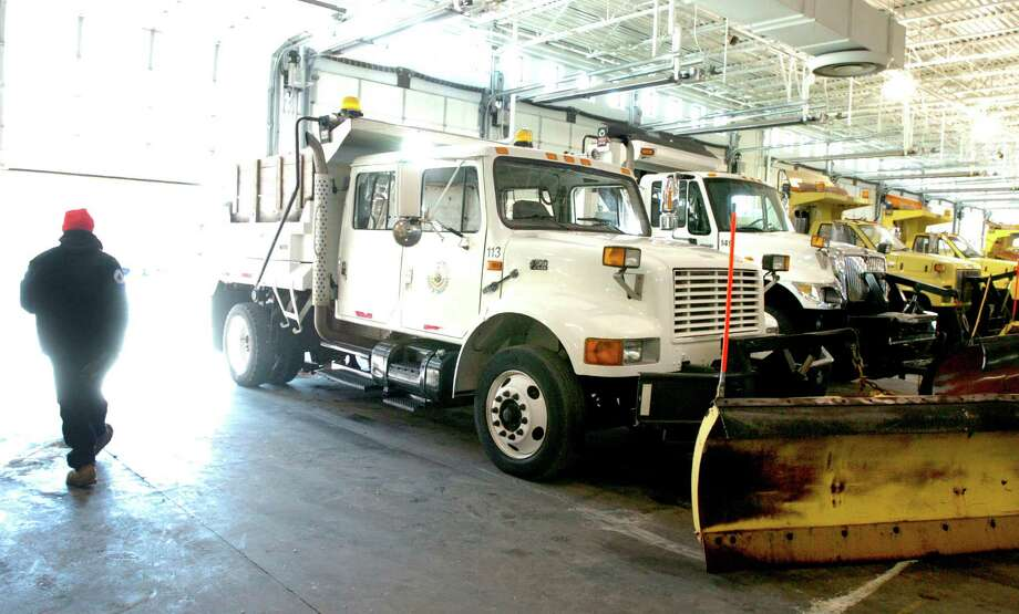 The metal from Stamford snow plows was believed to have been stolen and resold by city employees six years ago. Photo: File Photo