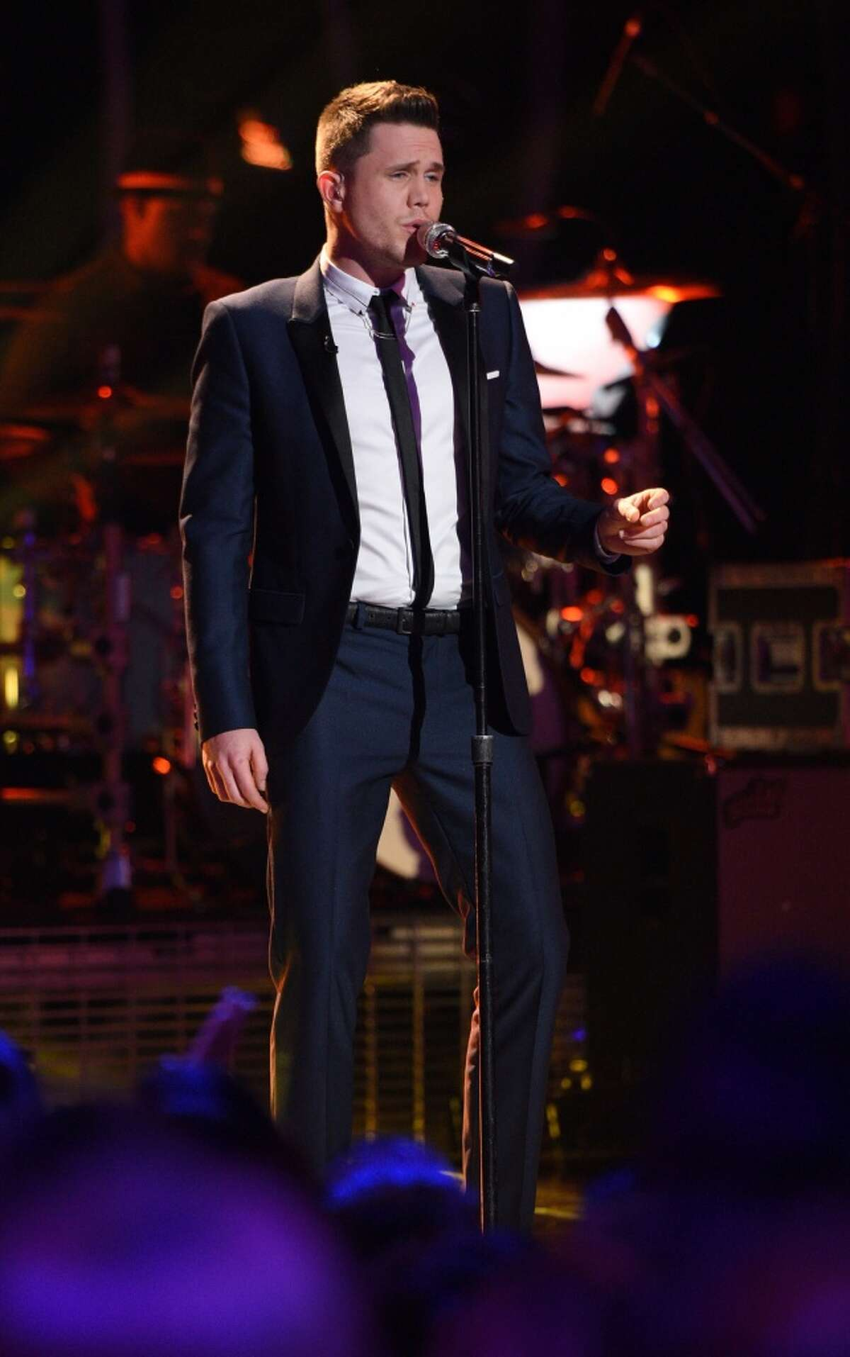 AMERICAN IDOL: Top 4: Contestant Trent Harmon performs.