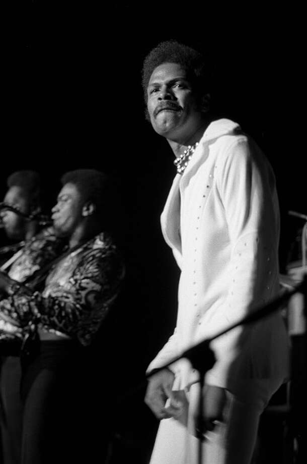 The music of Leon Haywood, who is shown performing in New York City in 1974, has been sampled by rap artists over the years. Haywood, born in Houston, died on Tuesday, a family member says. Photo: Waring Abbott, Getty Images