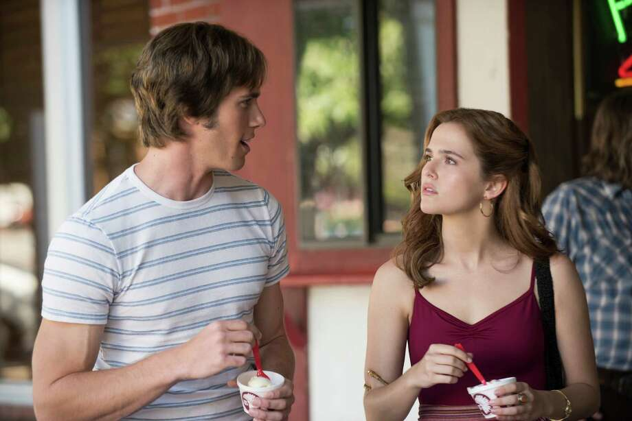 "This image released by Paramount Pictures shows Blake Jenner, left, and Zoey Deutch in ""Everybody Wants Some."" (Van Redin/Paramount Pictures and Annapurna Pictures via AP) Photo: Van Redin, HONS / AP / Paramount Pictures"