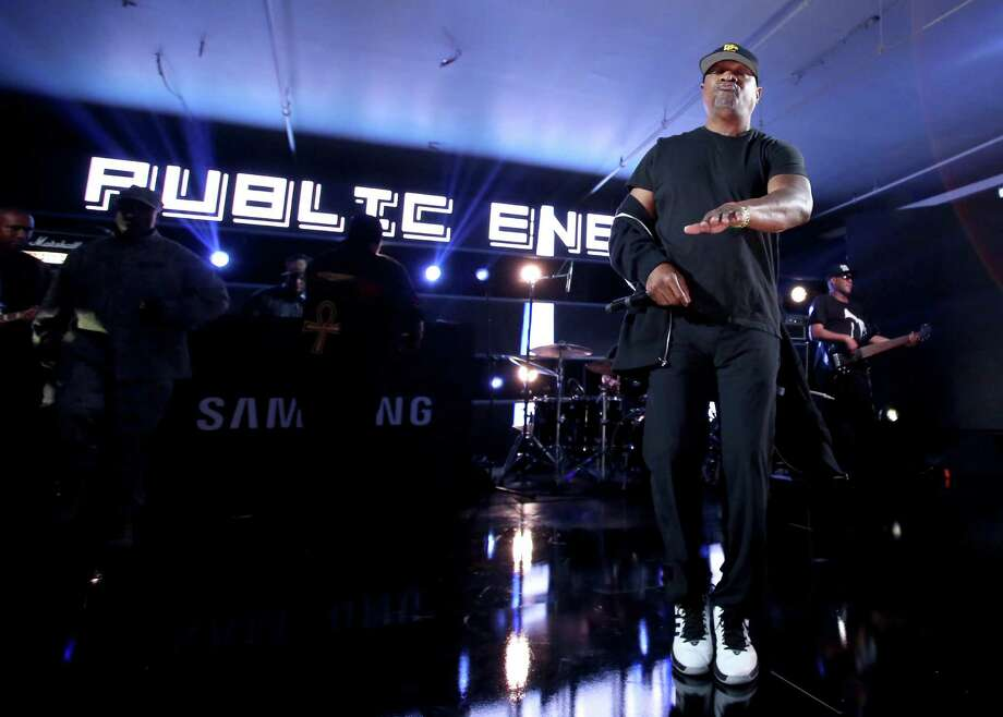 Chuck D of Public Enemy will be on message at the Maverick Festival. Photo: Getty Images / 2016 Getty Images