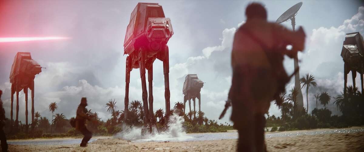 AT-AT walkers in a still from
