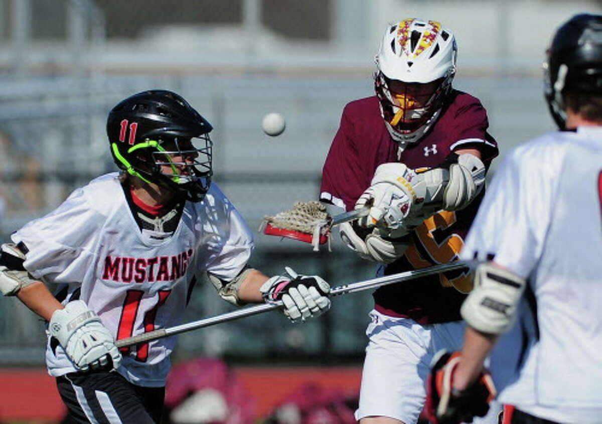 Jake Fuss (11) will be one of the leaders for the Mustangs this spring as Warde looks to improve on its 7-9 record from last season and make a return trip to the state tournament.