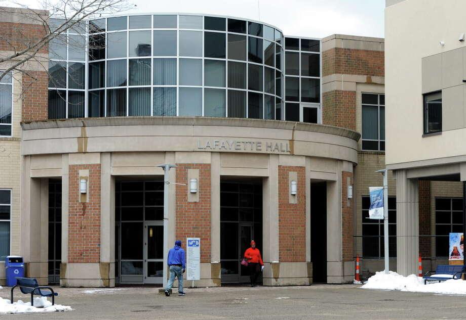 Housatonic Community College in Bridgeport, Conn. on Wednesday, Feb. 10, 2016. Photo: Cathy Zuraw / Hearst Connecticut Media / Connecticut Post