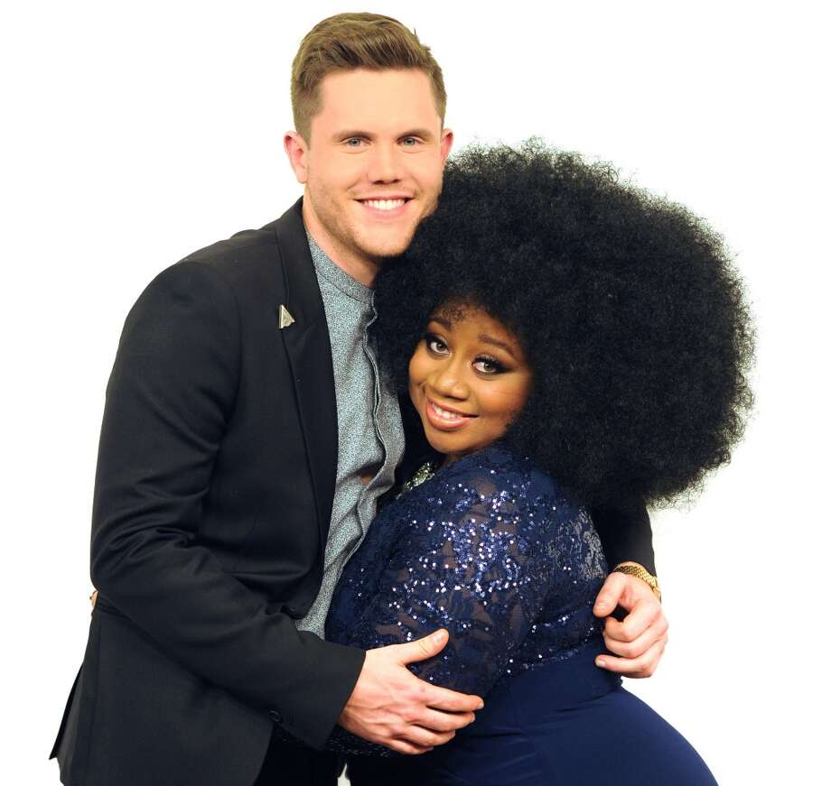 Season 15 finalists Trent Harmon and La'Porsha Renae. Photo: FOX