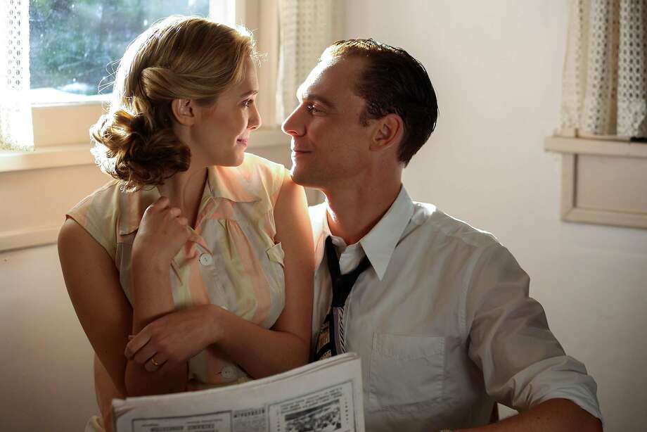 """This image released by Sony Pictures Classics shows Elizabeth Olsen as Audrey Williams, left, and Tom Hiddleston as Hank Williams in a scene from, """"I Saw The Light."""" (Sam Emerson/Sony Pictures Classics via AP) Photo: Sam Emerson, AP"""