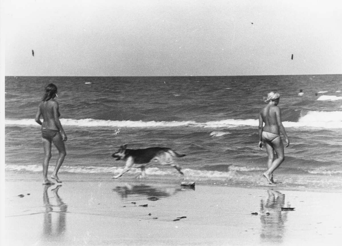 3. Efforts to the establish the park began in 1936 , when State Parks Board chairman D. E. Colp proposed a national park between Corpus Christi and Port Isabel, according to the Handbook of Texas. President John F. Kennedy signed the bill into law on Sept. 23, 1962.In this undated photo, topless woman enter the beach.