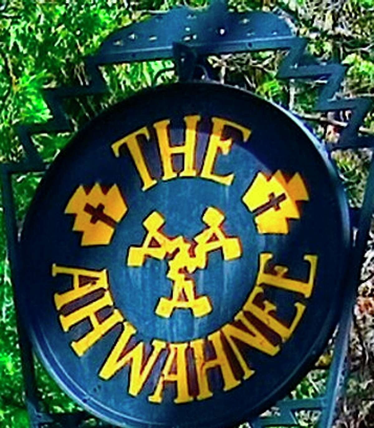 The Ahwahnee Hotel sign was stolen before the hotel change names March 1.