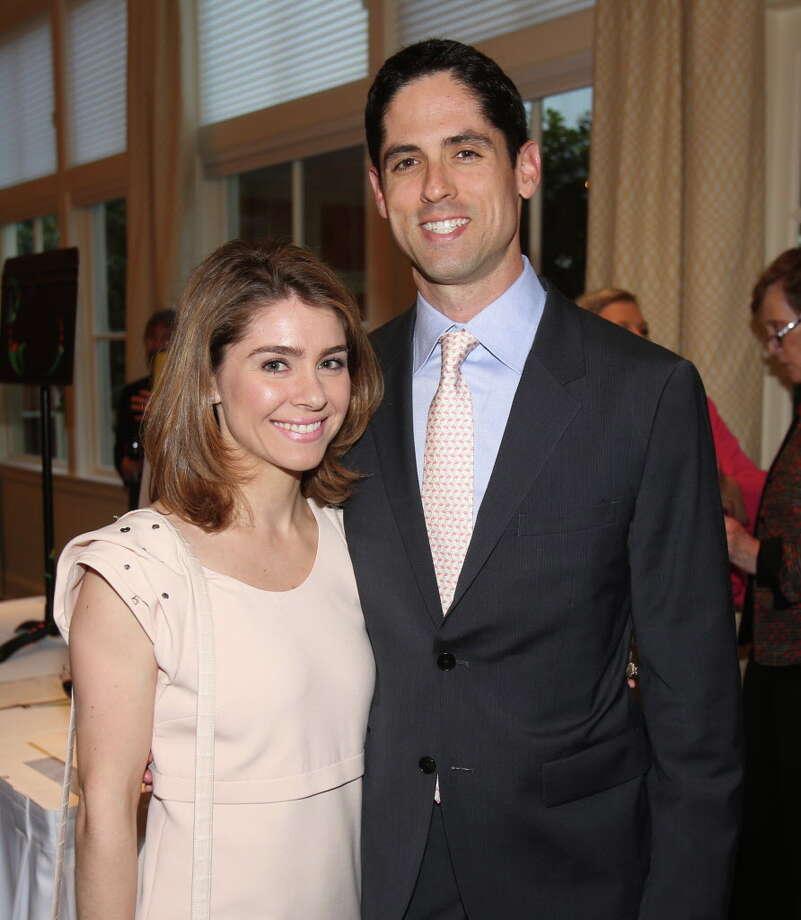Rachael and Jason Volz at the AFA Beyond the Music Gala. Photo: Amber Elliott, Houston Chronicle / © 2016  Houston Chronicle