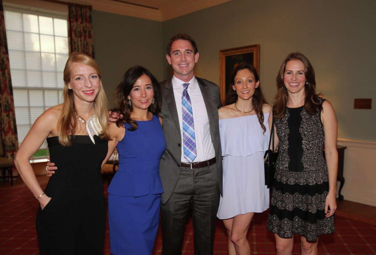 Elizabeth Cleveland, Alejandra Santa, John Allison, Tallent Ricca, and Kaylen Burke at the AFA Beyond the Music Gala.