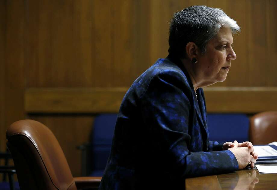 University of California President Janet Napolitano has ordered an investigation of conduct by UC Davis Chancellor Linda Katehi. Photo: Connor Radnovich, The Chronicle