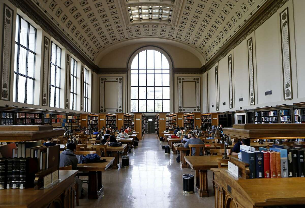 Doe Memorial Library at UC Berkeley is at the center of campus. It's hard to miss the high ceilings with decorative moldings and the large windows that line the room. Doe Library also houses many others like...