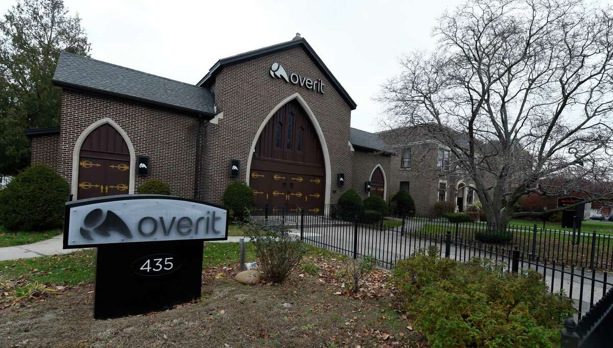 The Overit company has taken over the former St. Teresa of Avilia church after the consolidation of parishes Thursday morning Nov. 19, 2015 in Albany, N.Y. (Skip Dickstein/Times Union)