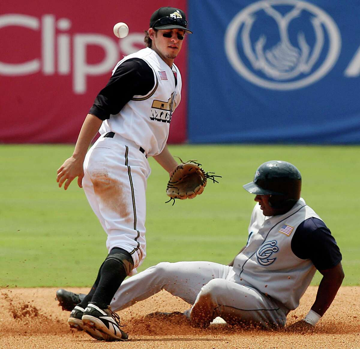 This file photo shows action during a San Antonio Missions game. Stepping up from the Double-A Missions to a Triple-A Whatever is like climbing a StairMaster. It feels like you are moving up, but really you are staying in the same place.