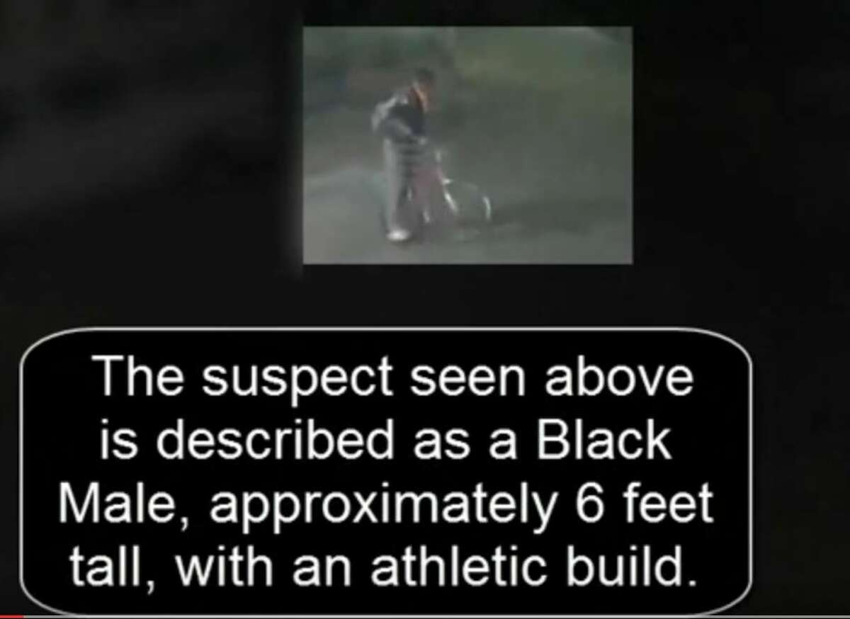 On Thursday, April 7, police identified a suspect in the slaying of Haruka Weiser: a black male standing at about 6 feet tall seen in surveillance footage with a bike near Darrell K Royal Stadium.