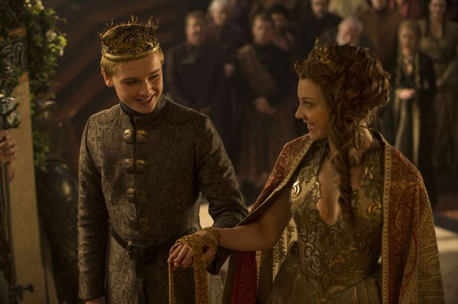 "In the present, Margaery marries King Tommen and  immediately begins manipulating him against his mother, Cersei. However, Cersei is busy at work with her own schemes against Margaery and her brother Loras, with  help from Westeros' puritanical religious order, The Sparrows.  Episode 503: ""High Sparrow"" Photo: HBO"