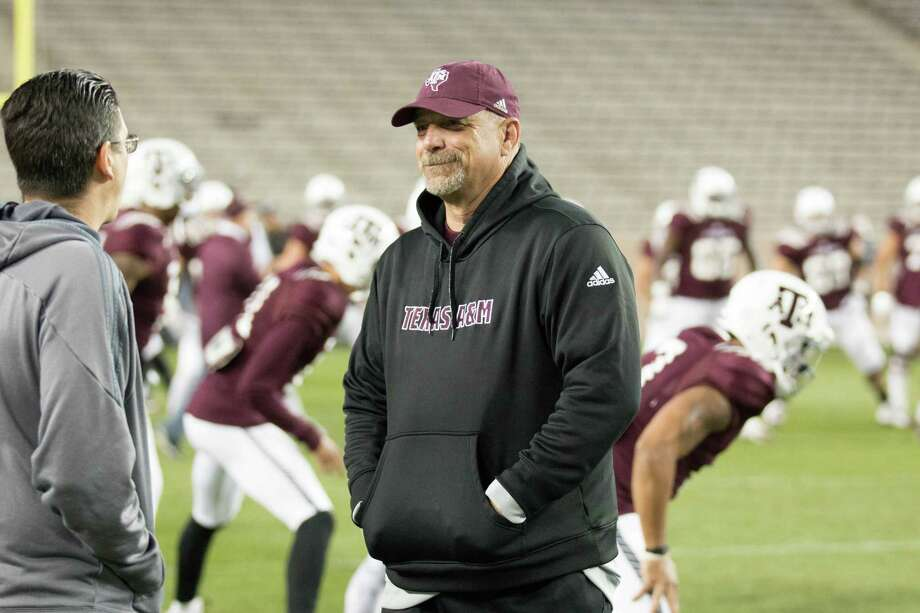 Noel Mazzone takes over as the offensive coordinator at Texas A&M after holding the same position in 2015 at UCLA. Photo: Scott Retzlaff /Texas A&M Athletics