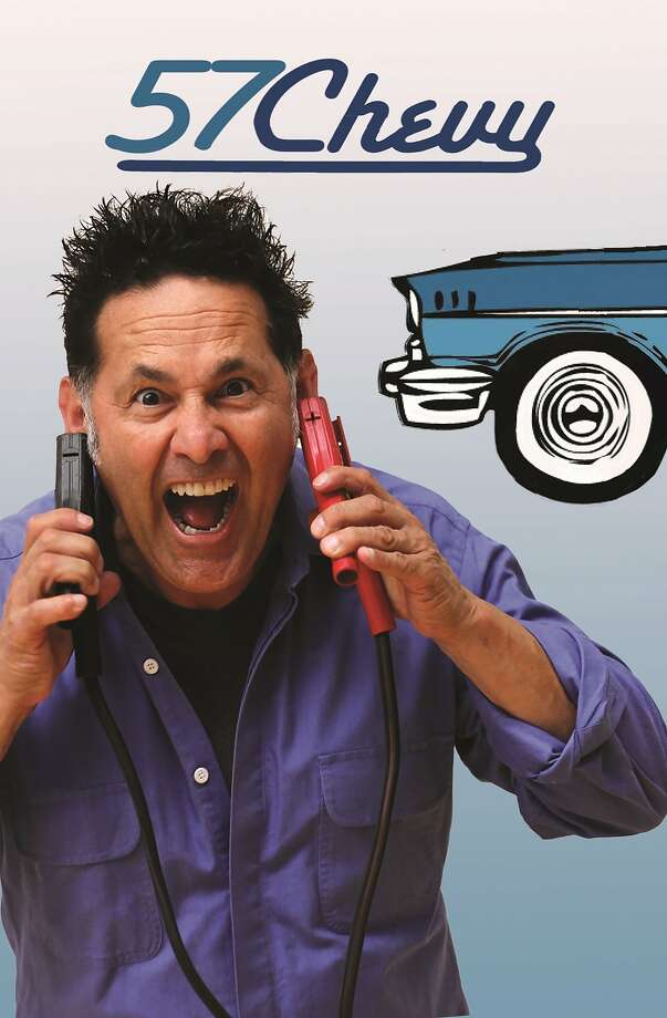 """Ric Salinas in """"'57 Chevy,"""" about a family adjusting to a new life. Photo: Courtesy Brava Theater Center"""