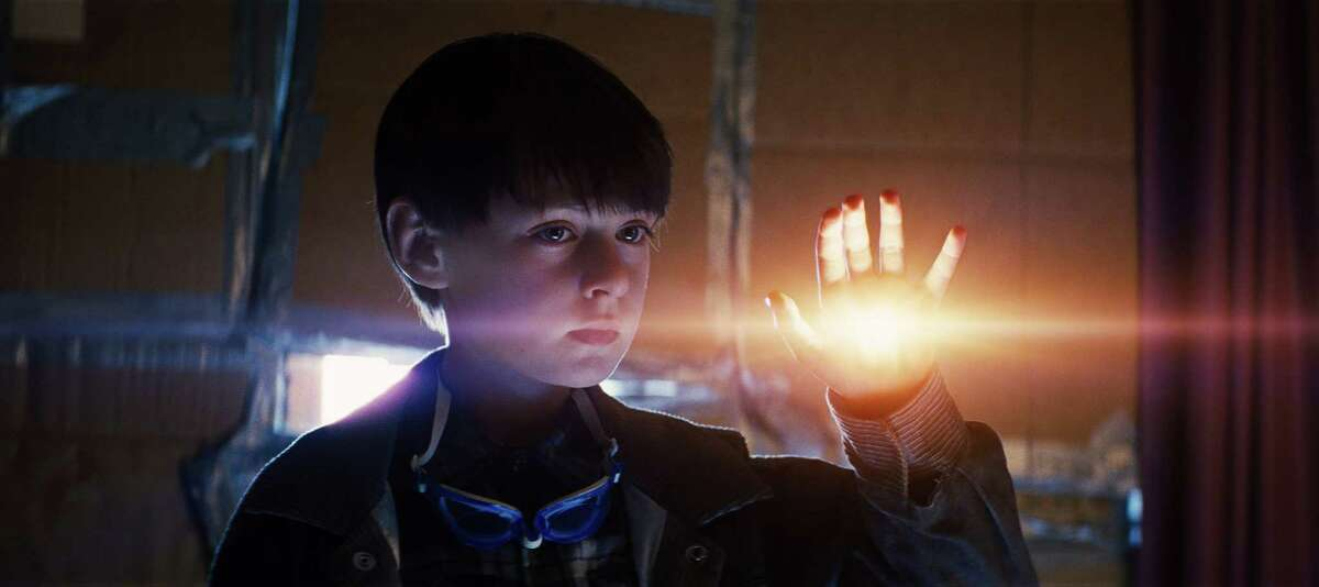 """This image released by Warner Bros. Entertainment shows Jaeden Lieberher in a scene from """"Midnight Special."""" (Warner Bros. Entertainment via AP)"""