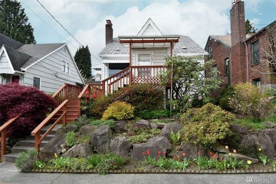 The first home,7743 18th Ave. N.E., is listed for $560,000. The four bedroom, one bathroom home was built in 1927.There will be a showing for this home on Saturday, April 9 and Sunday, April 10 from 1 - 4 p.m. You can see the full listing here.  Photo: Tamara Marson,  Windermere Real Estate Midtown
