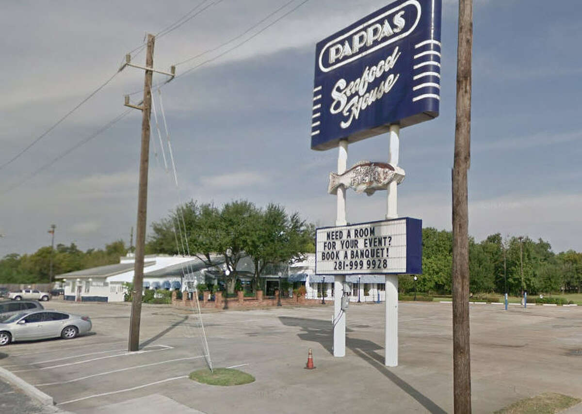 Pappas Seafood 11301 North Freeway, Houston, Texas 77037 Demerits: 16 Inspection highlights: Measured potentially hazardous food (salmon, cooked crawfish, cooked linguini, tilapia, catfish, calamari, seabass, and oyster) at an improper internal temperature. Observed existing equipment (reach-in cooler) to be not in good repair; quarantined.