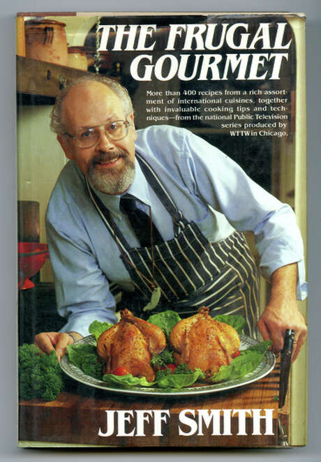"""The Frugal Gourmet"" cookbook by Jeff Smith."