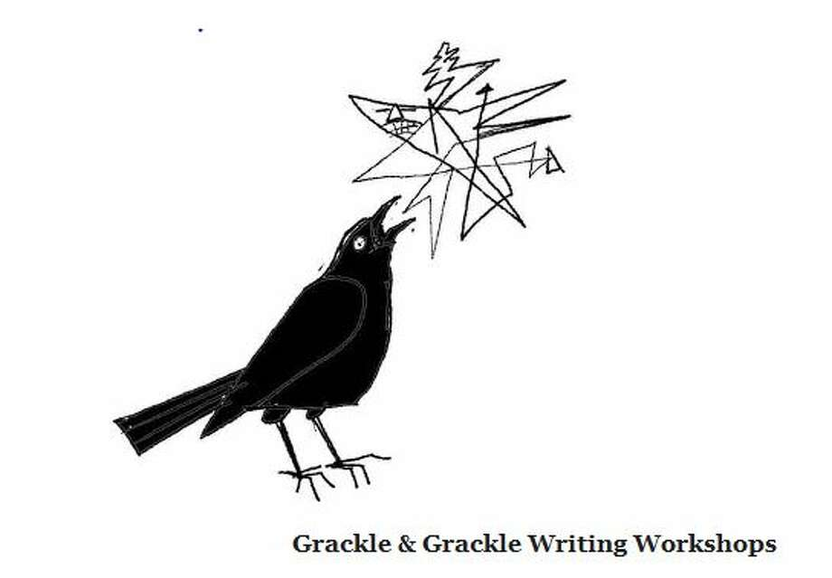 The logo of Grackle & Grackle, a new writing studio in the Heights.