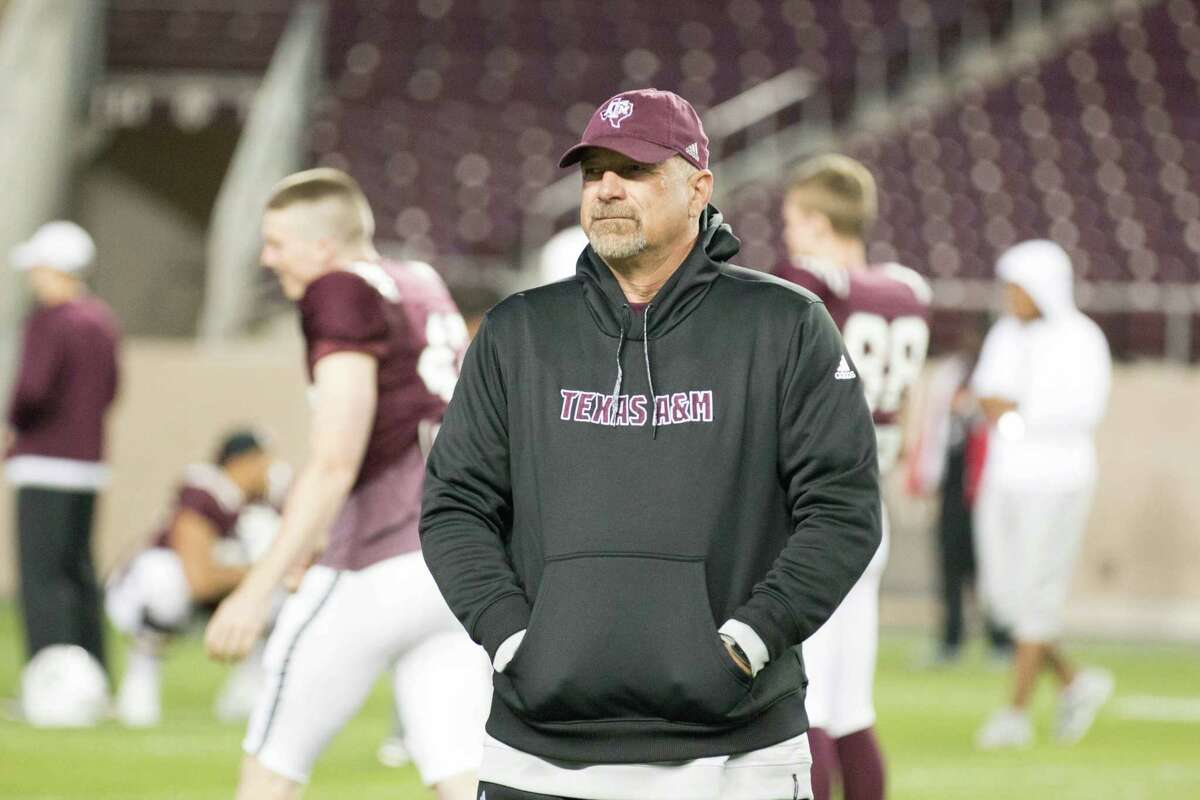 Noel Mazzone takes over as offensive coordinator at Texas A&M after holding the same position in 2015 at UCLA.