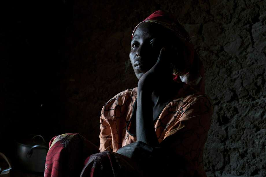 Rahila Amos, a Nigerian grandmother, says she was abducted by Boko Haram and forced to take classes on how to carry out a suicide bombing before she managed to escape. Photo: TYLER HICKS, STF / NYTNS