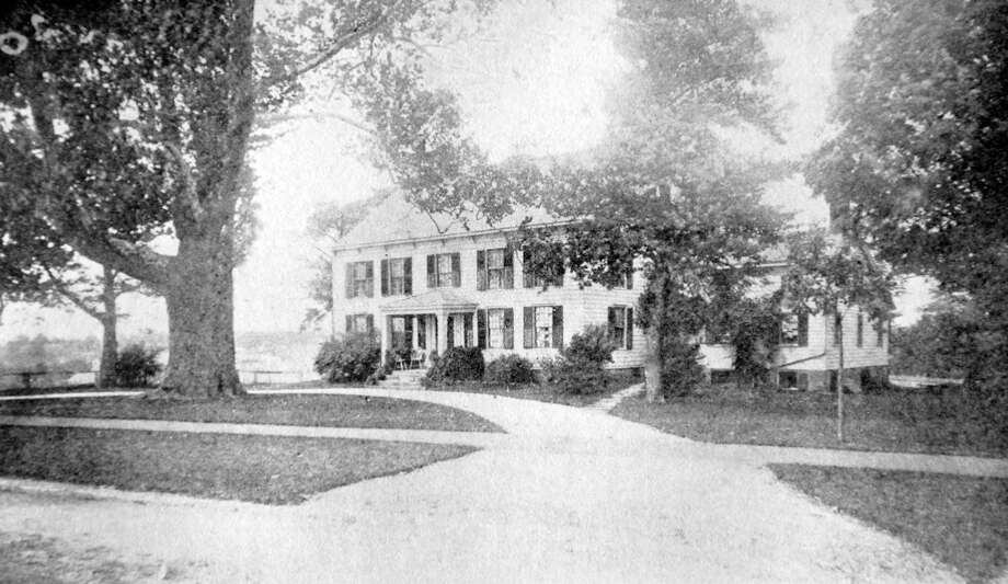 Residence of the late Col. Thomas A. Mead, borough of Greenwich, built in 1798 by Richard Mead. Photo: File Photo