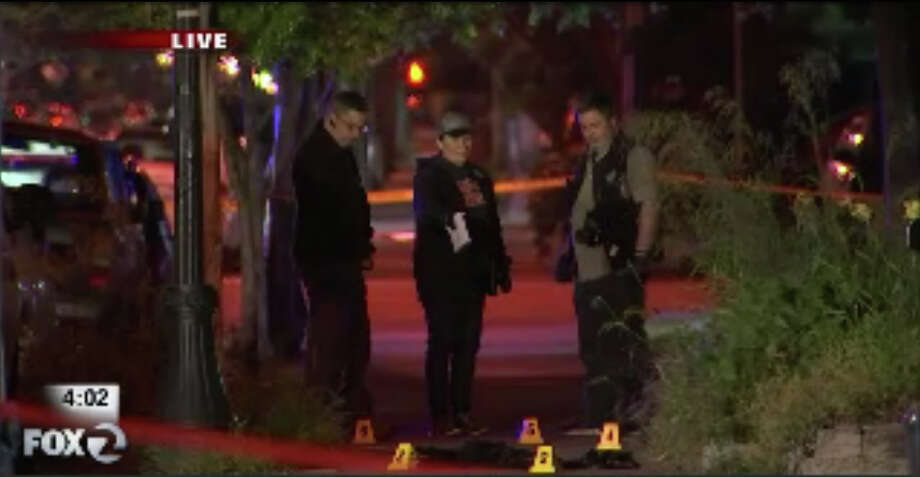 Police are investigating an overnight shooting where a man suffered critical injuries near San Jose State university. Photo: KTVU