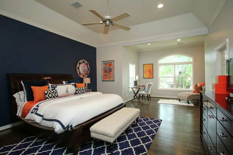 Shown is a master bedroom addition with sitting area. Photo: Courtesy Of Shawn Vacek Of Remodelers Of Houston