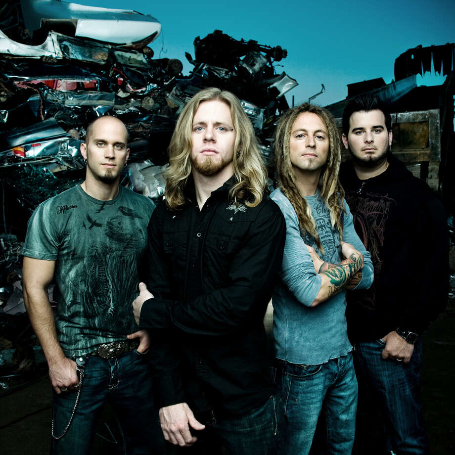 Christian rock band Decyfer Down is on tour with Disciple and Seventh Day Slumber.