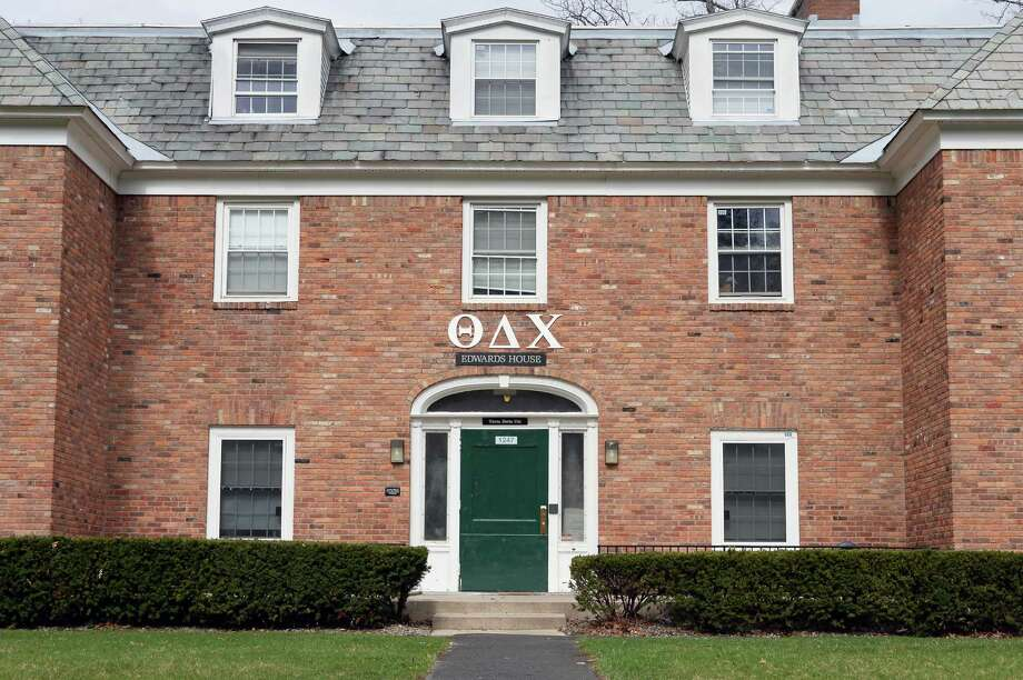 The Theta Delta Chi chapter house at Union College Friday April 8, 2016 in Schenectady, NY.  (John Carl D'Annibale / Times Union) Photo: John Carl D'Annibale / 10036121A