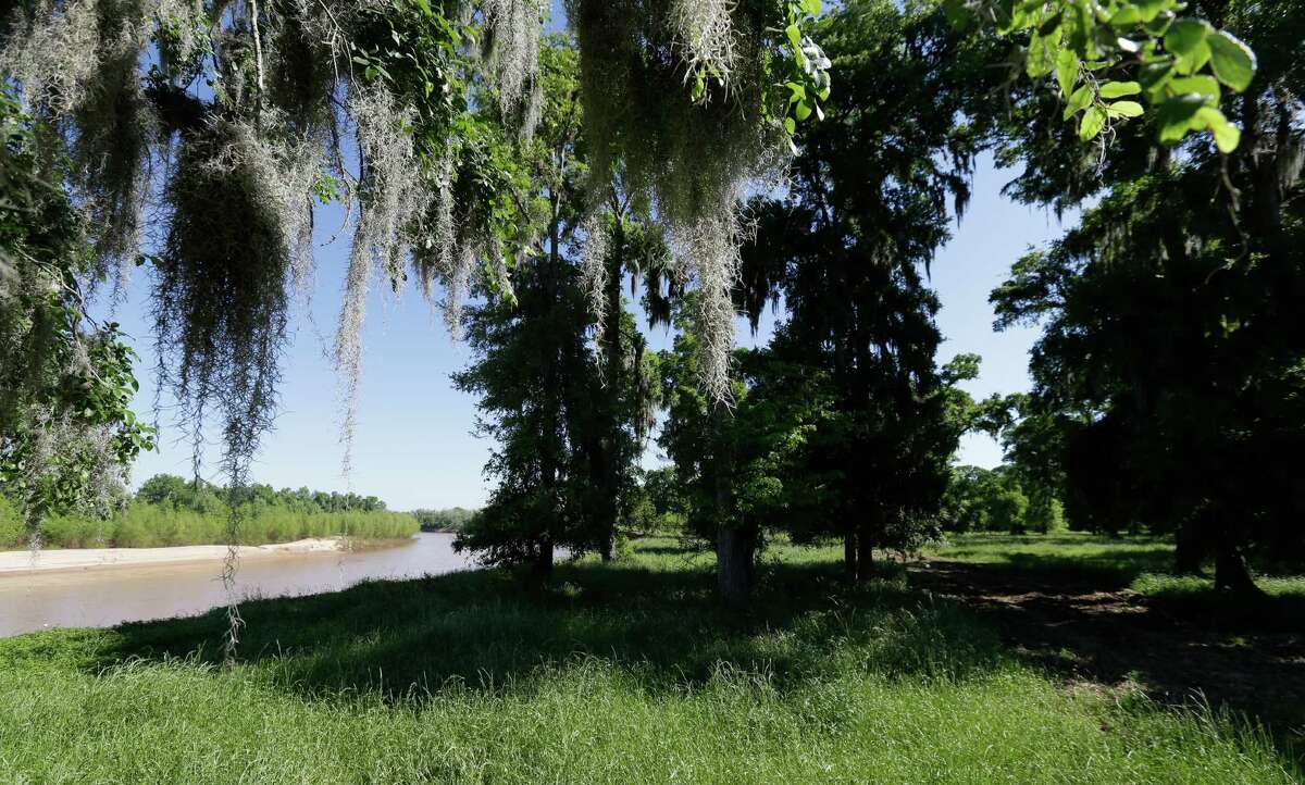 A view from Laprada, over 2,000 acres along the Brazos River, is shown Tuesday, April 5, 2016, in Richmond. Laprada Landing offers tracts ranging from ±60 ? 105 acres, each with its own unhindered view of the Brazos River. ( Melissa Phillip / Houston Chronicle )