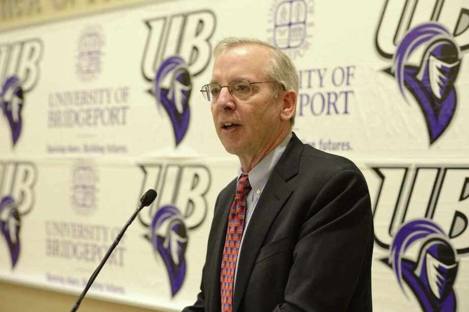 Bill Dudley, president of the Federal Reserve Bank of New York, speaks Friday, April 8, 2016 at the University of Bridgeport in Bridgeport, Conn. Photograph by Kazuhiro Shoji courtesy of the University of Bridgeport.