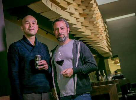 Owners John Vuong (left) and Michael Ireland of High Treason in San Francisco. Photo: John Storey, Special To The Chronicle