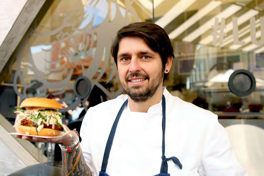 Chef Ludo Lefebvre, co-owner of Petit Trois in Los Angeles. Photo: Matt Winkelmeyer, Getty Images