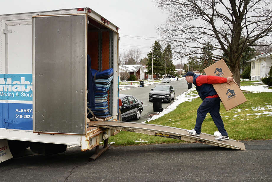 Thinking about leaving New York? A recent report from United Van Lines shows that most people are moving to the following states. Photo: John Carl D'Annibale / 10036101A