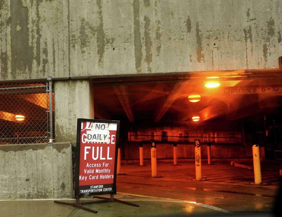 Stamford train garage a place for parking public money for Garage ww auto
