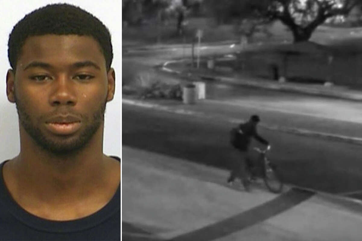 Meechaiel Khalil Criner, 17, was arrested Thursday and booked into the Travis County Jail around 2 a.m. Friday. He has been charged with murder in the death of University of Texas freshman Haruka Weiser.