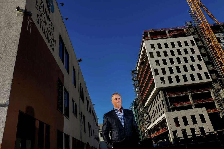 Victor Coleman is chief executive of Hudson Pacific Properties, which owns the Sunset Bronson Studios. The studio will soon neighbor a new Netflix facility.  Photo: Jay L. Clendenin, MBR / Los Angeles Times