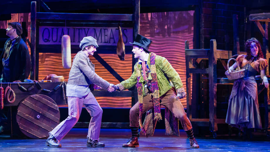 A scene from the TUTS production of Oliver! Photo: Christian Brown / Christian Brown