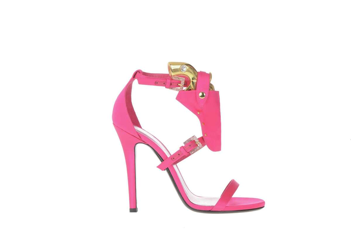 Designer Joyce Echols has a line of luxury shoes that are made in Italy and sold locally at Katia and Tootsies.