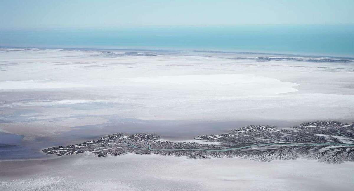 """Delta region of the Colorado River, Baja California, Mexico featured in the film """"The Colorado: A Film Oratorio"""" by Murat Eyuboglu"""