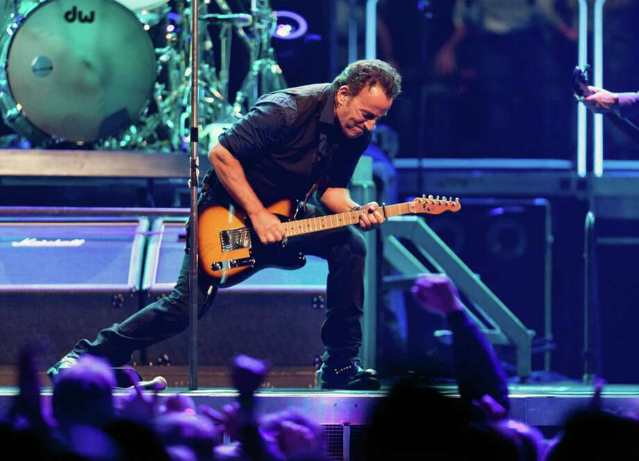 Bruce Springsteen is canceling a show in North Carolina in protest of the state's new law banning local governments from extending civil rights protectiosn to gay and transgender people. Photo: RICHARD PERRY, STF / NYTNS