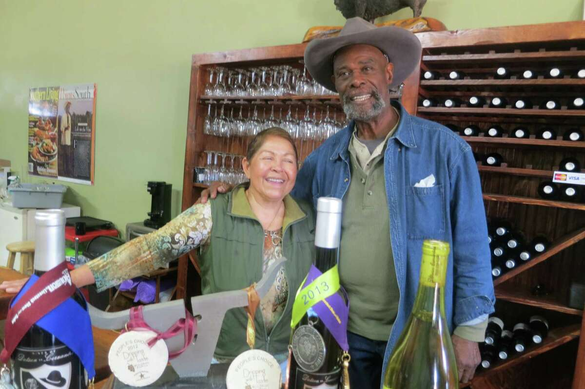 Decades after playing for coach John Madden's Oakland Raiders, Alphonse Dotson met Martha Cervantes and started making wine.